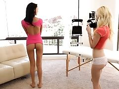 American, Audition, Blonde, Brunette, Casting, Old, Pussy, Skinny, Spreading, Teen,