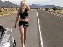 Alison Angel, Amateur, American, Blonde, Car, Clothed Sex, Cute, Legs, Long Hair, Long Legs,