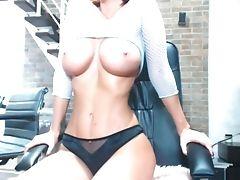 Amateur, Babe, Big Ass, Big Tits, Blonde, Cum, Fitness, Homemade, Masturbation, Sex Toys,
