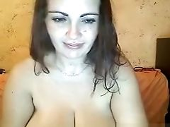 Babe, Big Tits, Brunette, Huge Tits, Sexy, Solo, Webcam,