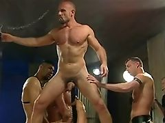 Big Cock, Blowjob, Group Sex, Hunk, Leather, Sex Toys,
