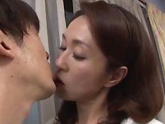 Blowjob, Clothed Sex, Couple, Dick, Handjob, Hardcore, Japanese, MILF, Wife,