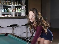 Babe, Big Tits, Lingerie, Pornstar, Redhead, Softcore, Solo, Striptease,