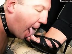 Clamp, Femdom, Fetish, Foot Fetish, High Heels, Pegging, Russian, Strapon, Submissive,