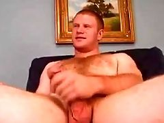 Freckled, Hairy, Jerking, Masturbation,