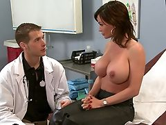Big Tits, Clinic, Diamond Foxxx, Dick, Doctor, Gyno, Hardcore, Hospital, Huge Tits, Legs,