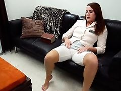 Babe, Chubby, Clothed Sex, Couch, Cute, Fingering, Legs, Masturbation, Religious, Solo,