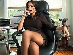 Babe, Big Tits, Boss, Brunette, Clothed Sex, Cute, Dick, Dress, Gorgeous, Hardcore,