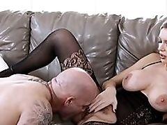 Amazing, Big Tits, Blonde, Blowjob, Bold, Coach, Dick, Facial, Fake Tits, HD,