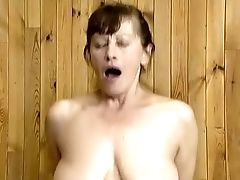 Blowjob, Brunette, Dick, Felching, Hardcore, Mature, On Top, Riding, Wild,
