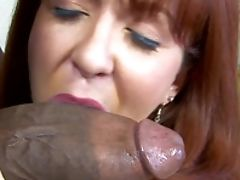 Anal Sex, Big Black Cock, Big Cock, Clamp, Interracial, Redhead, Trinity Post,