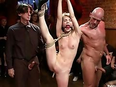 Bdsm, Bondage , Flexível , Princess Donna, Público , Sensi Pearl,