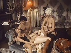 Blowjob, Close Up, Glamour, Group Sex, Handjob, Hardcore, Licking, Lingerie, Natural Tits, Nylon,