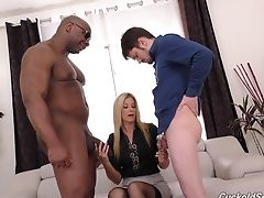 Big Black Cock, Big Cock, Black, Blonde, Boyfriend, Cheating, Cuckold, Hardcore, India Summer, Interracial,