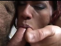 Anal Sex, Big Cock, Blowjob, Hairy, Interracial, Latina, Shemale, Whore,
