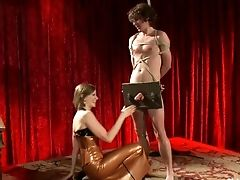 Anal Sex, BDSM, CFNM, Clothed Sex, Femdom, Lorelei Lee, Maitresse Madeline, Strapon, Theater,