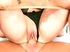 Ass, Blowjob, Bold, Brunette, Cindy Hope, Close Up, Couple, Cum In Mouth, Cum Swallowing, Cumshot,