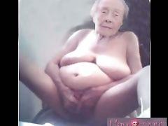 Amateur, Compilation, Granny, Masturbation, Mature,