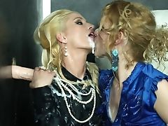 Blonde, Blowjob, Brunette, Clothed Sex, Couch, Dirty, Glory Hole, HD, Lesbian, MILF,