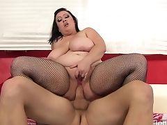 BBW, Big Tits, Bunny De La Cruz, Dick, Pussy,