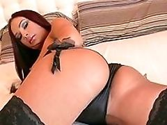 Amy Reid, Big Cock, Big Tits, Blowjob, Brunette, Close Up, Fake Tits, From Behind, Hardcore, Lingerie,