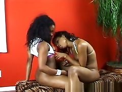 Ebony Lesbians, Food, Horny, Lesbian, Pussy,