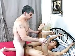 Asian, Bareback, Daddies, Ethnic, HD, Interracial, Old And Young, Young,