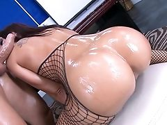 Amazing, Ass, Big Ass, Blowjob, Deepthroat, Doggystyle, Fishnet, Hardcore, HD, Lingerie,