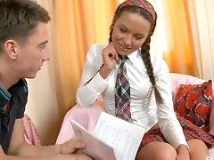 Sesso Anale, Culo, Bambola, Pompino, Piatta, Scuola Mista, In College, Schizzata, Carino, Facial,