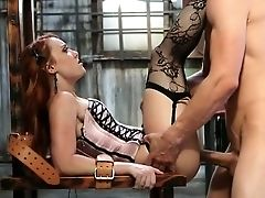 Anal Sex, Ass Fucking, Babe, Dani Jensen, Ginger, Hardcore, Lingerie, Pussy, Redhead, Romantic,