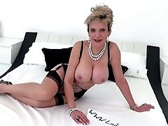 Big Nipples, Big Tits, British, Cumshot, Fitness, Gym, MILF,