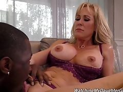 Big Black Cock, Foursome, Friend, Group Sex, Hardcore, Interracial, MILF, Pornstar,