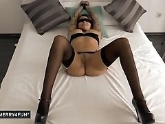 Blindfold, Blowjob, Bondage,