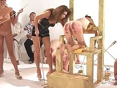 Ass, Babe, BDSM, Brunette, Femdom, Fetish, Punishment, Spanking, Submissive, Torture,