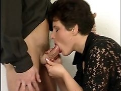 Cum, Cumshot, Facial, Mature, Office, Secretary,