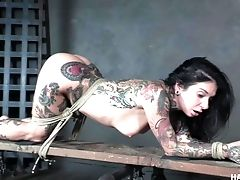 BDSM, Bondage, Emo, HD, Joanna Angel, Rough, Strapon, Submissive, Whore,