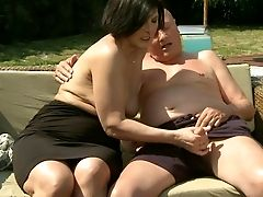 Anal Sex, BBW, Granny, Mature, Threesome,