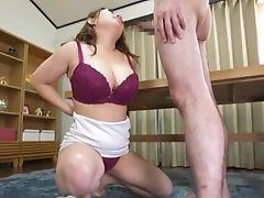 Big Tits, Blowjob, Bra, Couple, Cum, Cum Swallowing, Cute, Handjob, Hardcore, Japanese,
