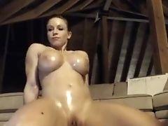 Grandes Tetas, Rubia, Tierna, Vibrador, Masturbacion, Juguetes Sexuales, Webcam,
