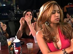 Blonde, Blowjob, CFNM, Group Sex, Interracial, Party, Reality,
