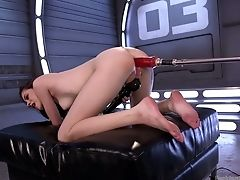 Anal Sex, Ass, Boobless, Brunette, Dildo, Extreme, Hairy, Horny, Pussy, Sex Toys,