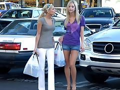 Blonde, Close Up, Dildo, Group Sex, Lesbian, Natalia Rossi, Pussy, Sammie Rhodes, Stylish, Tall,