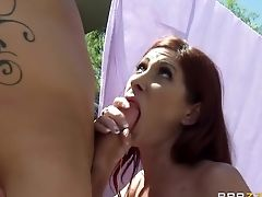 Big Tits, Blowjob, HD, MILF, Natural Tits, Neighbor, POV, Tiffany Mynx,