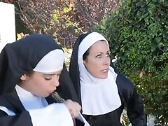 Katie Morgan, Lesbian, Nuns, Pornstar, Pussy Eating,