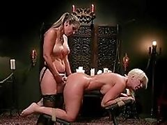 Anal Sex, Babe, Blonde, Brunette, Close Up, Corset, Dildo, Doggystyle, Extreme, Femdom,