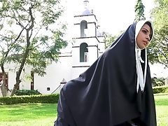 Anal Sex, Babe, Blowjob, Brunette, Dick, Doggystyle, Fetish, HD, Moaning, Nuns,