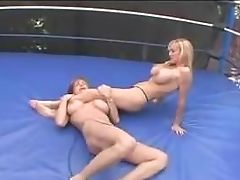 American, BDSM, Big Natural Tits, Catfight, Club, Fighting,