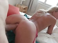 Anal Sex, Ass Fucking, Babe, Blonde, Blowjob, Bold, Cowgirl, Cum Swallowing, Cumshot, Cute,