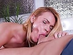 Big Cock, Blonde, Blowjob, Boobless, Dick, HD, MILF, Mom, Old And Young, Sexy,
