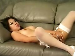 Ethnic, Japanese, Masturbation, MILF, Seduction, Stockings, White, Whore,